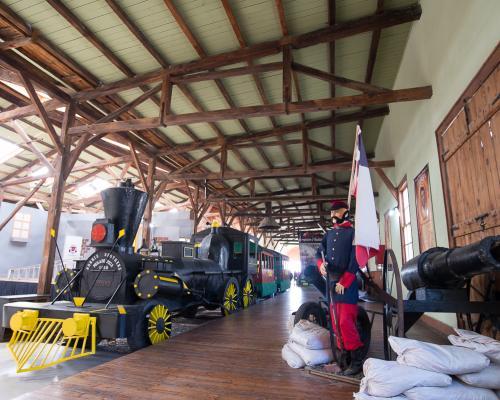 Imagen del monumento Estación de Ferrocarrill de Caldera