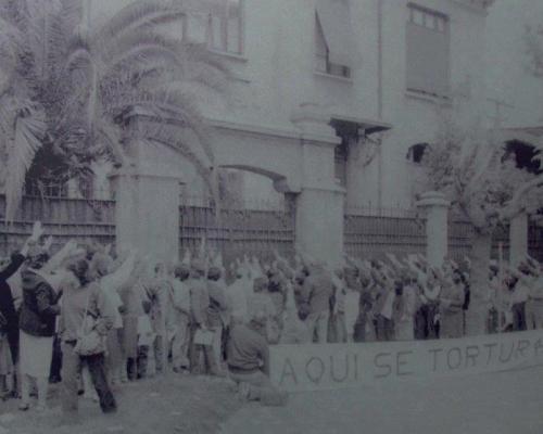 Imagen del monumento Sitio de Memoria Cuartel Borgoño