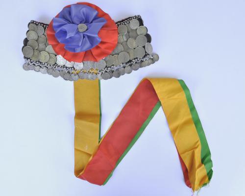 Imagen del monumento Las colecciones de platería y joyería Mapuche, de textiles Mapuche y de cerámica artística de Lota