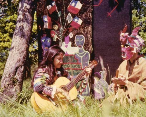 Imagen de Violeta Obras artísticas de Violeta Parra