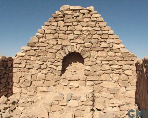 Imagen del monumento Ruinas de la capilla de Misiones de Peine Viejo