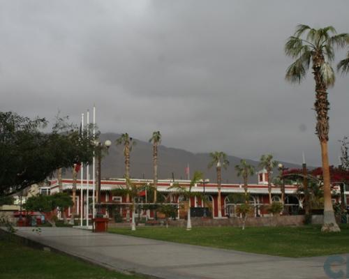 Imagen del monumento Estación de ferrocarril de Iquique a Pueblo Hundido