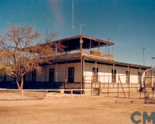 Imagen del monumento Inmuebles de la ex oficina Salitrera Iris