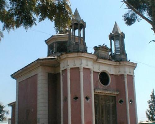 Imagen del monumento Iglesia Quinta Bella, ubicada en terrenos de la Escuela Perú (E-N°126)