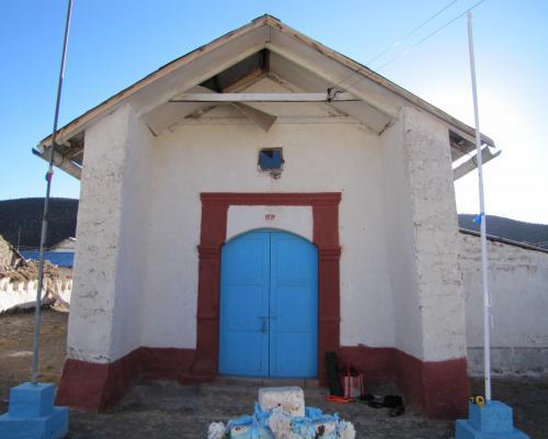 Imagen del monumento Iglesia Santa Rosa de Lima de Caquena