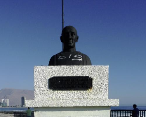 Imagen del monumento La Provincia De Tarapacá Al Médico De Los Pobres