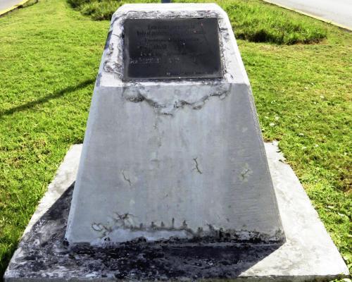 Imagen del monumento Inauguración Avda. Arturo Prat Chacón