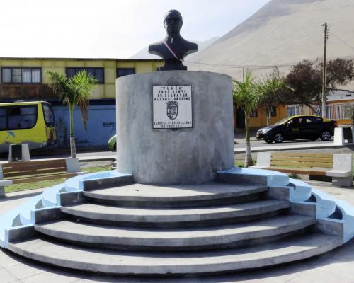 Imagen del monumento Dr. Salvador AllenDe Gossens