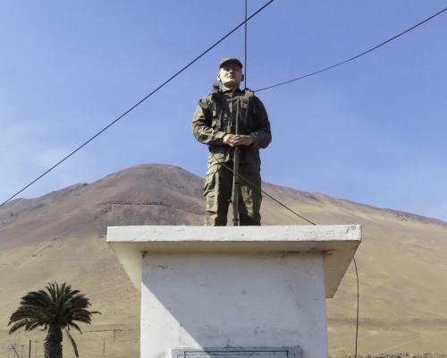 Imagen del monumento Soldado Pedro Prado