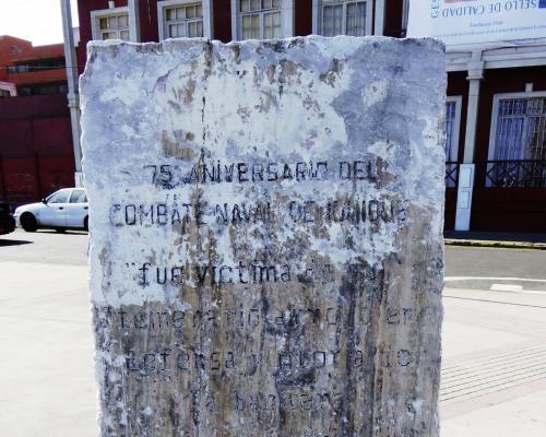 Imagen del monumento 75 Aniversario Del Combate Naval De Iquique