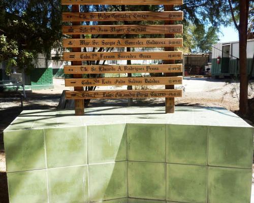 Imagen del monumento Mártires De Carabineros De Chile