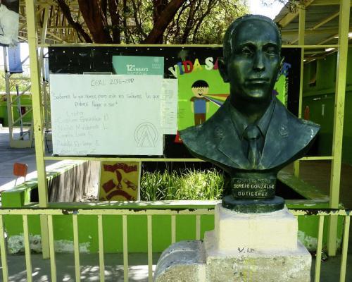 Imagen del monumento Sergio González Gutiérrez