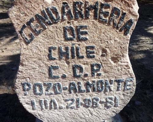 Imagen del monumento Gendarmería