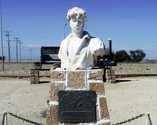 Imagen del monumento Homenaje A Los Trabajadores De La Pampa Salitrera