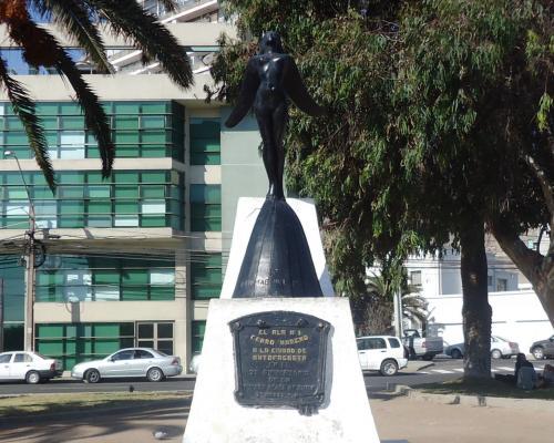 Imagen del monumento Mujer Alada