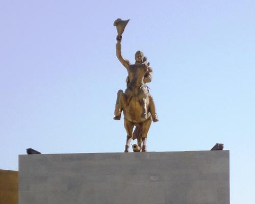 Imagen del monumento Ecuestre A Bernardo O'Higgins