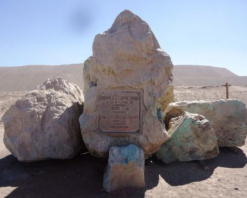 Imagen del monumento Hito Trópico De Capricornio