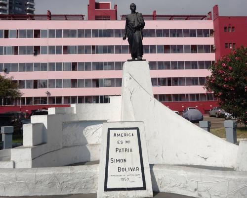 Imagen del monumento Simón Bolivar