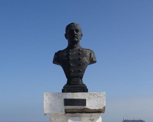 Imagen del monumento General Baquedano