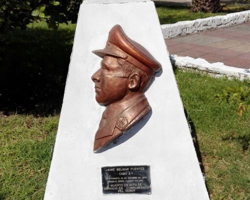 Imagen del monumento Carabinero Jaime Belmar