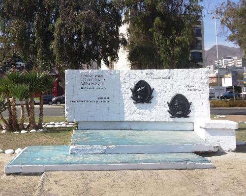 Imagen del monumento Osvaldo Muñoz y Jose Dávila