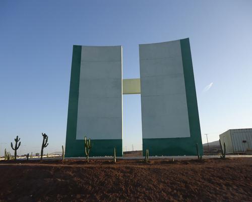 Imagen del monumento Hito De Capricornio