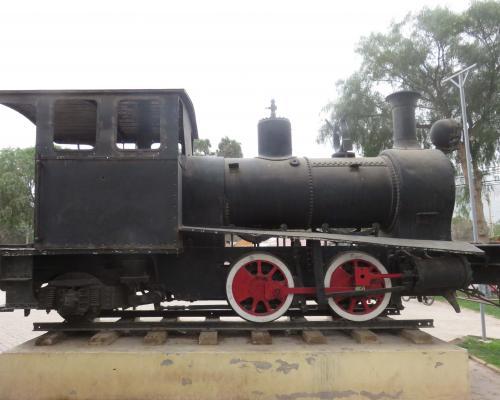 Imagen del monumento Locomotora Ferrocarril