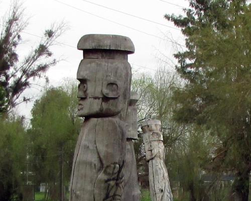 Imagen del monumento Chemamull