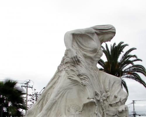 Imagen del monumento Madre Tierra