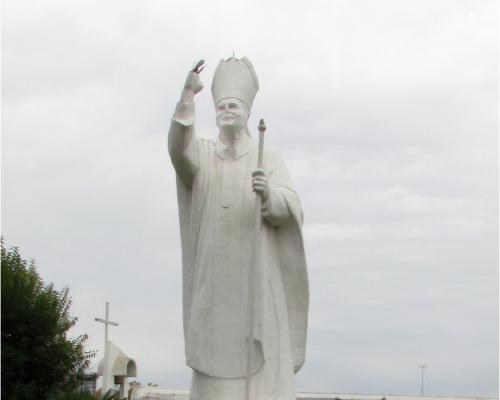 Imagen del monumento Juan Pablo II