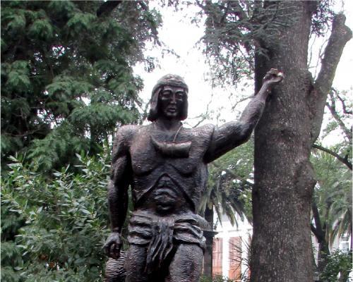 Imagen del monumento Lautaro