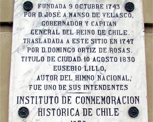 Imagen del monumento San Jose De Buenavista De Curicó