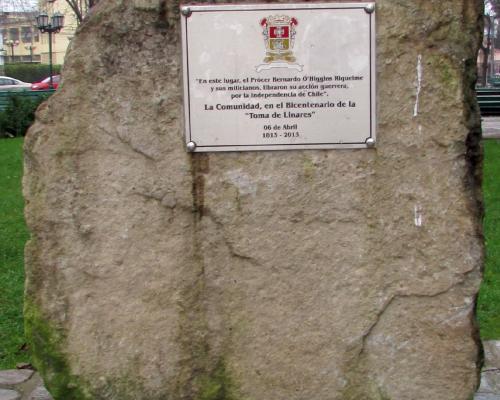 Imagen del monumento Toma De Linares
