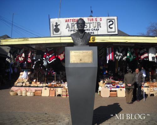 Imagen del monumento Ramón Vinay Sepúlveda