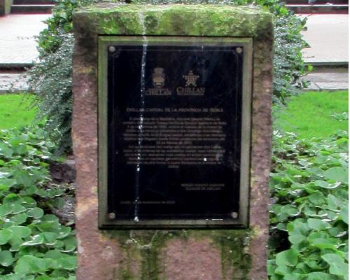 Imagen del monumento Chillán Capital De La Provincia De Ñuble