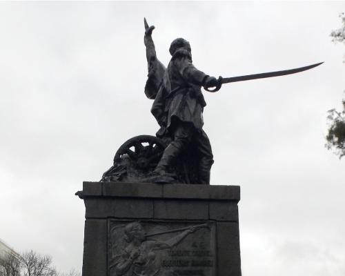 Imagen del monumento Eleuterio Ramirez
