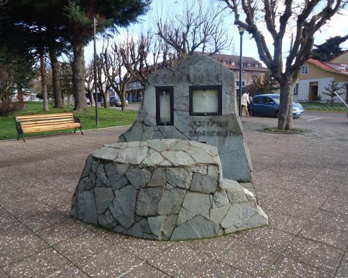 Imagen del monumento Firma Baquedano
