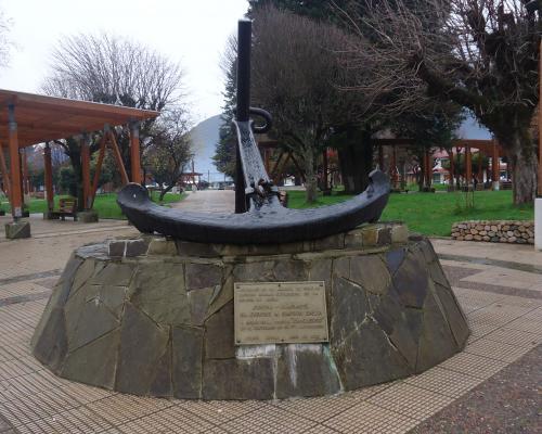 Imagen del monumento Enrique M. Simpson Baeza