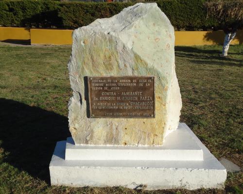 Imagen del monumento Contra-Almirante Sr. Enrique M. Simpson Baeza