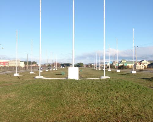 Imagen del monumento PLaza De Las BanDeras