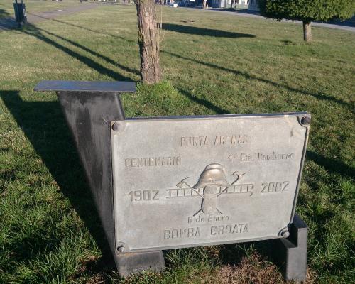Imagen del monumento Bomba Croata