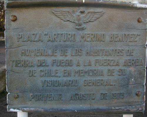 Imagen del monumento PLaza Arturo Merino Benítez