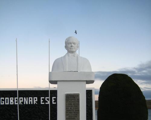 Imagen del monumento Pedro Aguirre Cerda