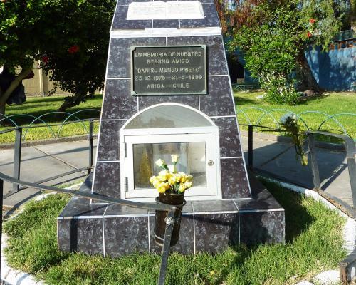 Imagen del monumento En Memoria De Nuestro Eterno Amigo Daniel Menco Prieto 23/12/1975-21/5/1999