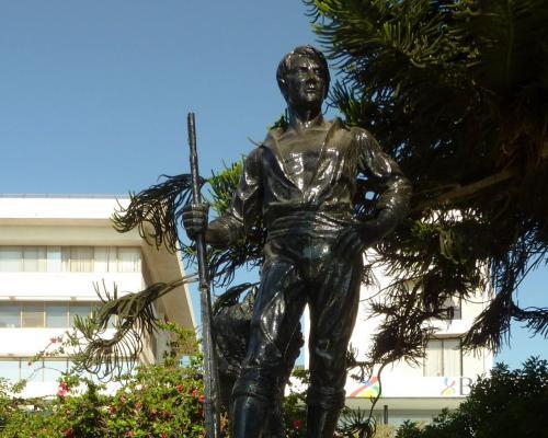 Imagen del monumento El Roto Chileno