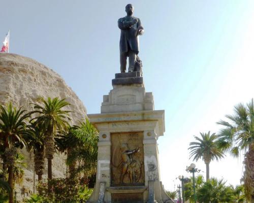 Imagen del monumento Benjamín Vicuña Mackenna