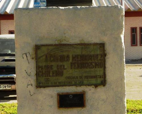 Imagen del monumento Fray Camilo Henríquez Padre Del Periodismo Chileno