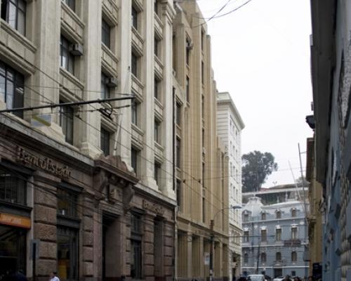 Imagen del monumento Sector Bancario de Calle Prat