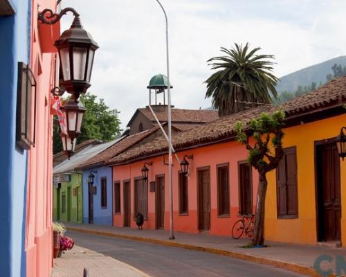 Imagen del monumento Centro histórico y calle Comercio de Putaendo