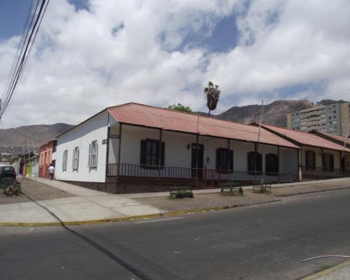 Imagen del monumento Las casas del ferrocarril de Antofagasta